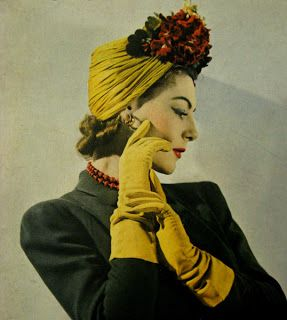 Turban by Madame Pauline 1941 #millinery #judithm #hats