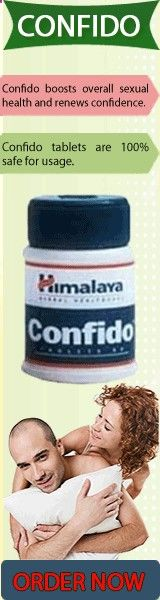 Confido is an exclusive non-hormonal Ayurvedic product manufactured by the Himalaya Drug Company that helps in deceasing anxiety levels, inhibiting nocturnal emission as well as premature ejaculation. It is noteworthy that intake of Confido tablets also assists in maintaining and ensuring normal sperm production. For best results from Confido tablets, take them as per the recommendations of the physician only.