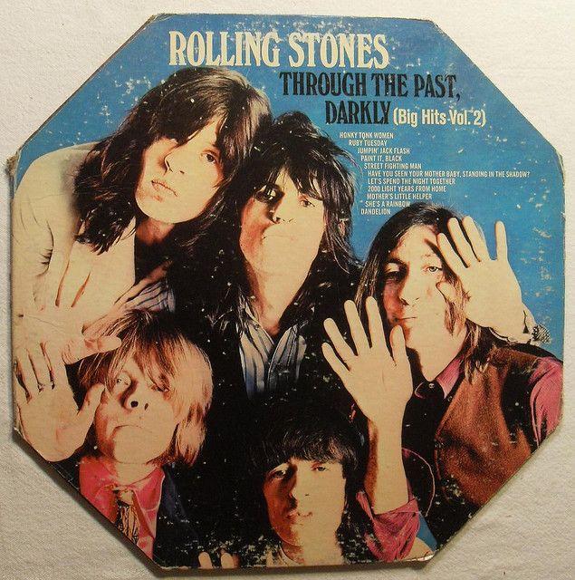 1969 ROLLING STONES Through The Past Darkly 1960s Vintage Vinyl Record LP Album Cover by Christian Montone, via Flickr