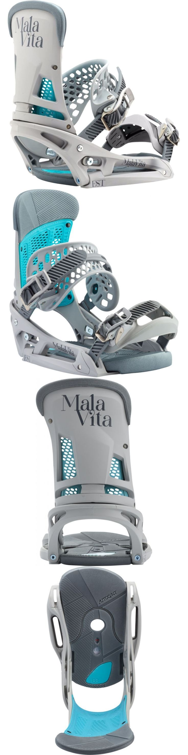 Bindings 21248: Burton - Malavita Est | 2017 - Mens Snowboard Bindings - New | Grayed Out -> BUY IT NOW ONLY: $223.95 on eBay!
