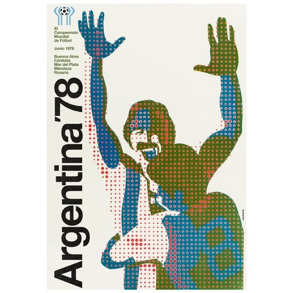 1978 FIFA World Cup Argentinien Poster