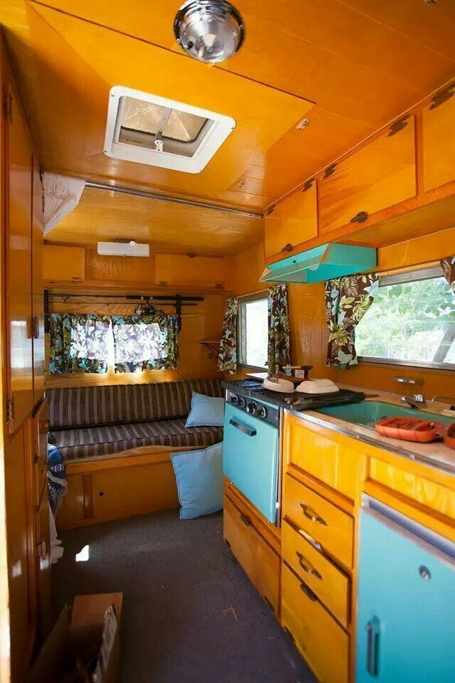 436 best Vintage Camper Interior images on Pinterest Vintage