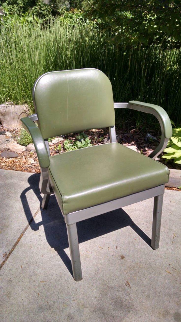 Reserved for Mari-Ellen Vintage Industrial Avocado Green ...