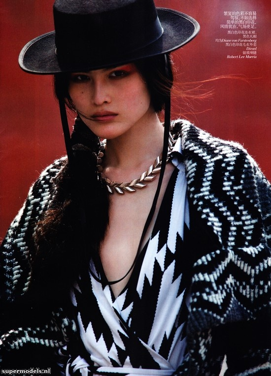 Sui He in 'Urban Wild' - Photographed by Hans Feurer (Vogue China November 2011)