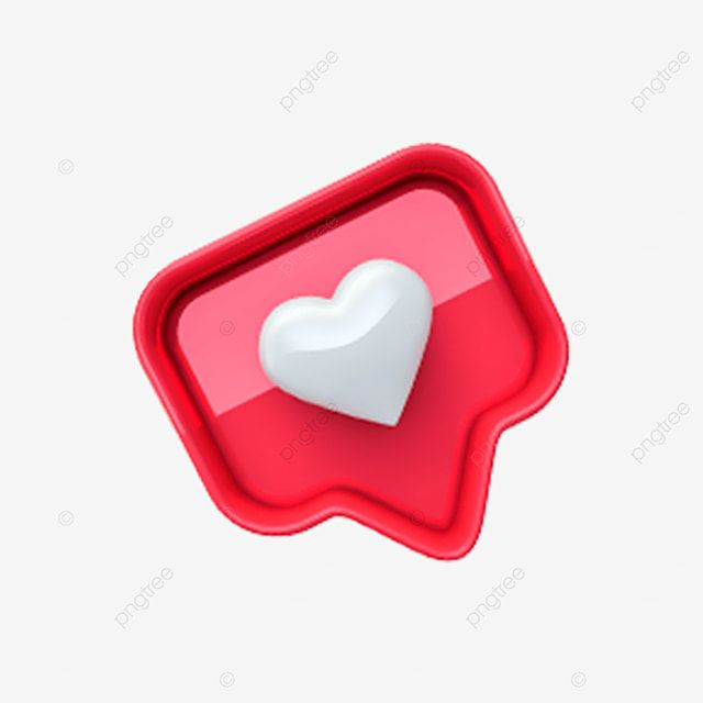 Instagram 3d Heart Icon Valentine Instagram Like 3d Heart Icon Png Transparent Clipart Image And Psd File For Free Download Heart Icons Music Logo Design Best Background Images