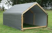 Goat+Pens+And+Shelters | borderland shelter borderland shelters are a super strong design with ...