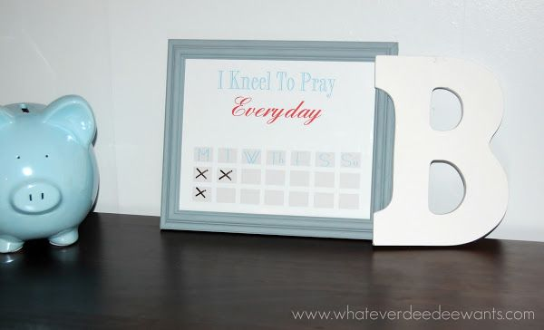 Whatever Dee-Dee wants, she's gonna get it: Free Printable: Kids Prayer Chart