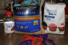 bird seed craft-good for winter study, something to feed the birds that didn't fly south!