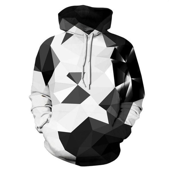 Make Earth Cool Again Mens Fashion Pullover Casual Hoodie Hooded Sweatshirt with Pocket