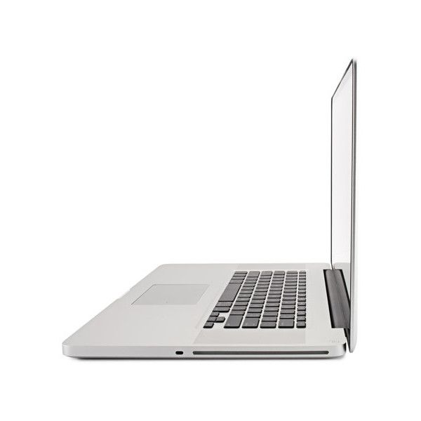 Apple Macbook Pro 17-inch (Unibody) - Right - Slideshow from PCMag.com ❤ liked on Polyvore featuring fillers, electronics, tech, technology and laptop