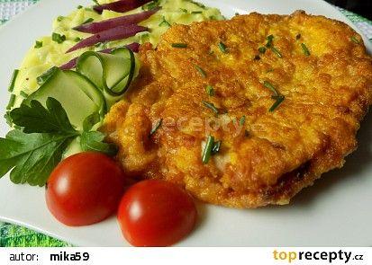 Jednoduše marinovaný kuřecí řízek recept - TopRecepty.cz