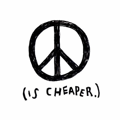 ✌🏻️ #peace #peaceischeaper #love #creative #create #ink #illustrate #illustration #illustrator #draw #drawing #handdrawn #handdrawntype #type #typography #font #blackandwhite #berlin #kreuzberg