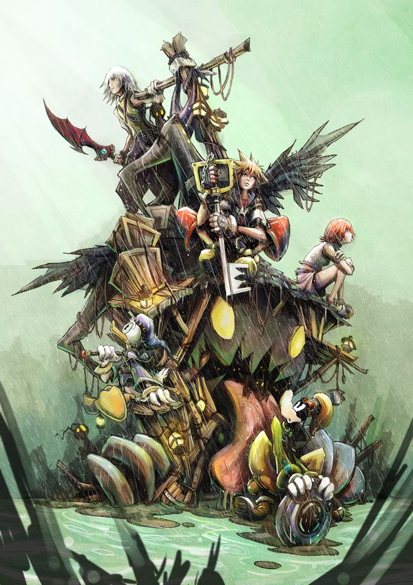 Kingdom Hearts by JohnDevlin.deviantart.com on @deviantART