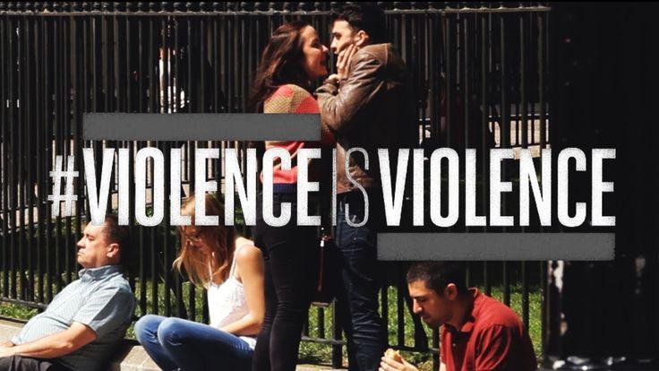 Quando os papéis se invertem as pessoas têm reações diferentes em relação à violência doméstica: quando a vítima é uma mulher, todos tentam ajudar, se a vítima é um homem, o mesmo não acontece. Esta é uma campanha feita no Reino Unido, onde 40% das vítimas de violência doméstica são homens.