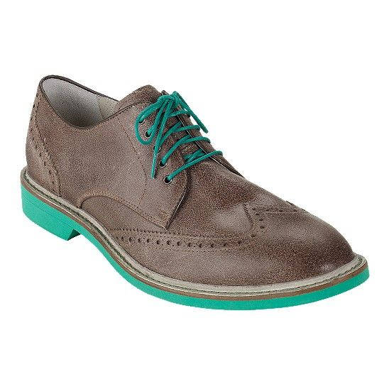 Cole Haan − Air Franklin Wing Tip Oxford  I think these are men's shoes...  Good thing I know my shoe size in men's better than I know my size in women's!      ;D