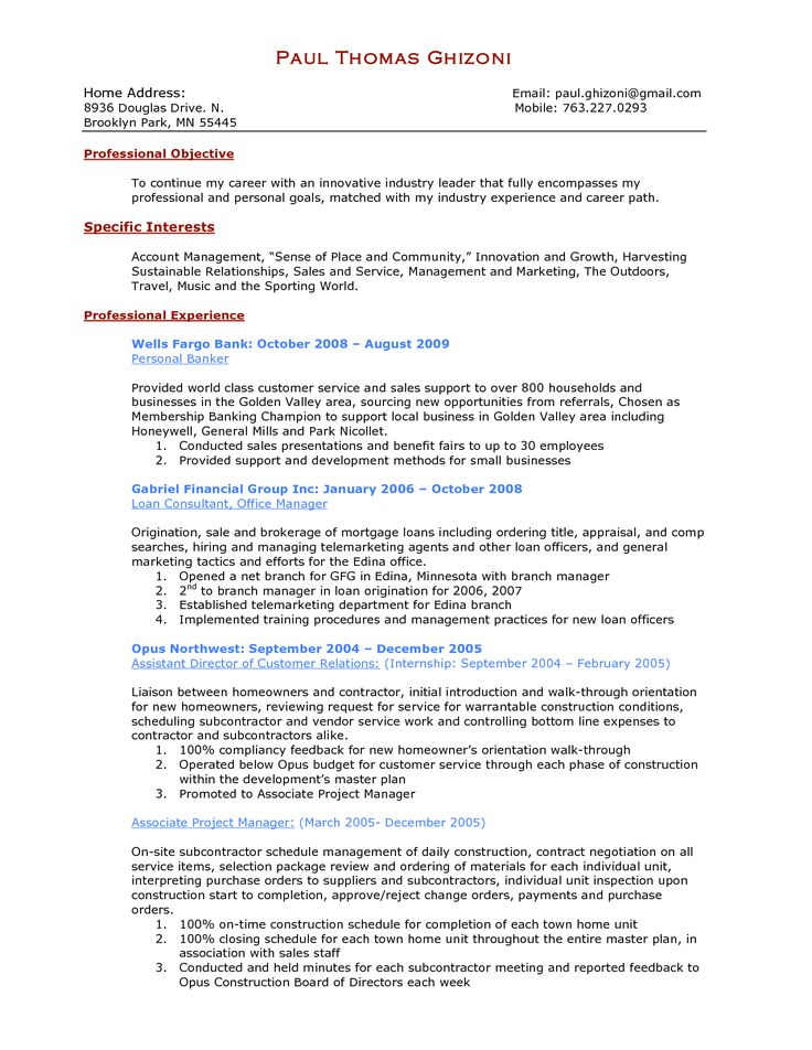 25+ unique Great cover letter examples ideas on Pinterest - personal banker resume objective