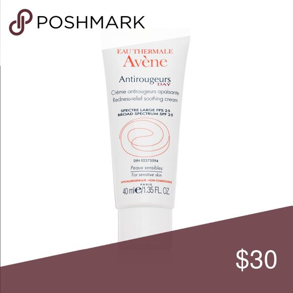 Avene redness relief cream Used only once for demonstration purposes comes in original box avene Makeup