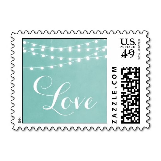 Best Summer Wedding Postage Stamps Images On