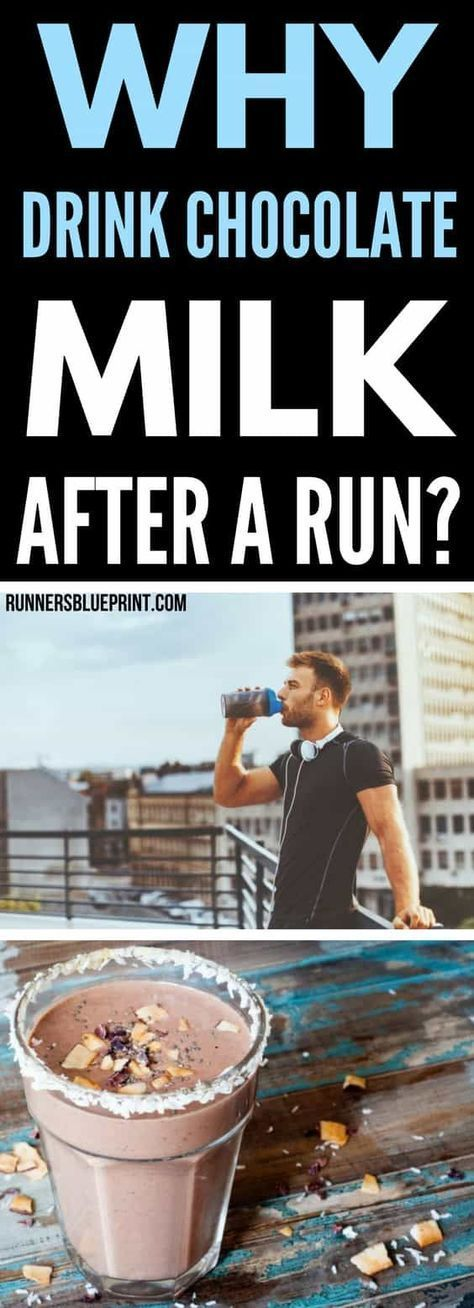 When it comes to post-workout nutrition, chocolate milk is an increasingly popular choice. And for all the right the reasons. In fact, this magical beverage might be one of the best drinks to consume after running, (or any other form of exercise for that matters). http://www.runnersblueprint.com/chocolate-milk-workout-recovery/ #chocolate #milk #RunningGearsTips