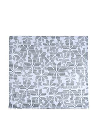 64% OFF Shiraleah Set of 3 Assorted Snowflake Napkins, Silver