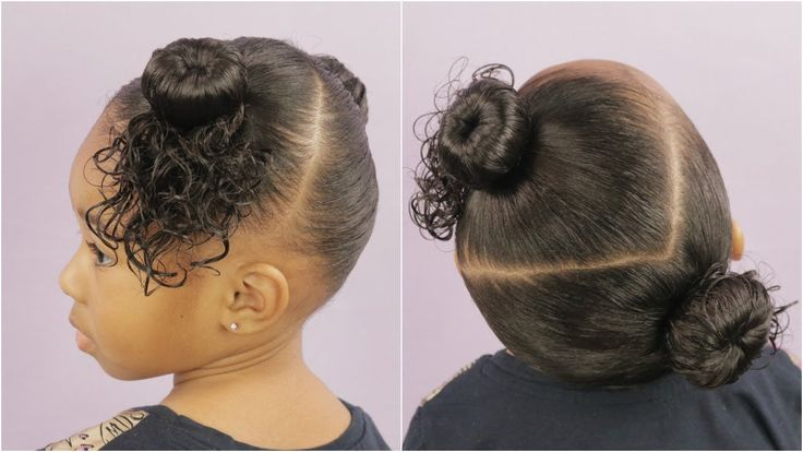 Two Bun Hairstyle – Hairstyle For Beginners [Video]