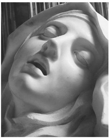 Detail of 'The Ecstasy of Saint Teresa of Avila'