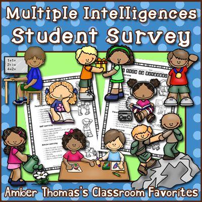 The 25+ best Multiple intelligences survey ideas on Pinterest - student survey