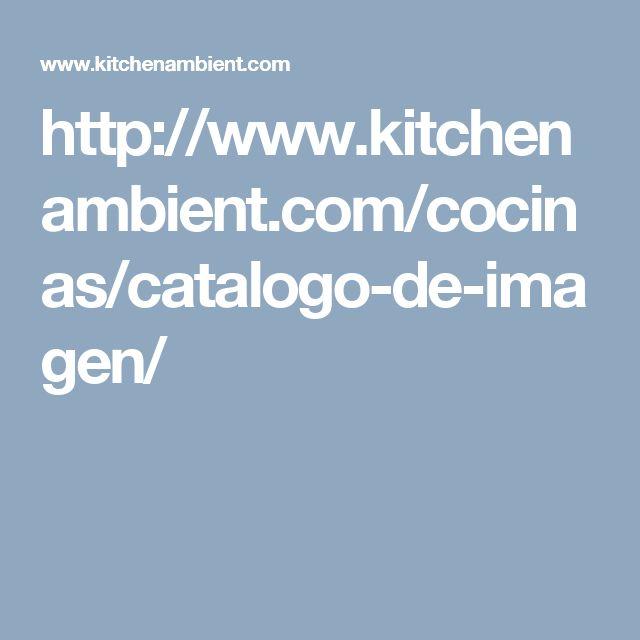 Catálogo de imagen de cocinas | TG Kitchenambient | http://www.kitchenambient.com/cocinas/catalogo-de-imagen/