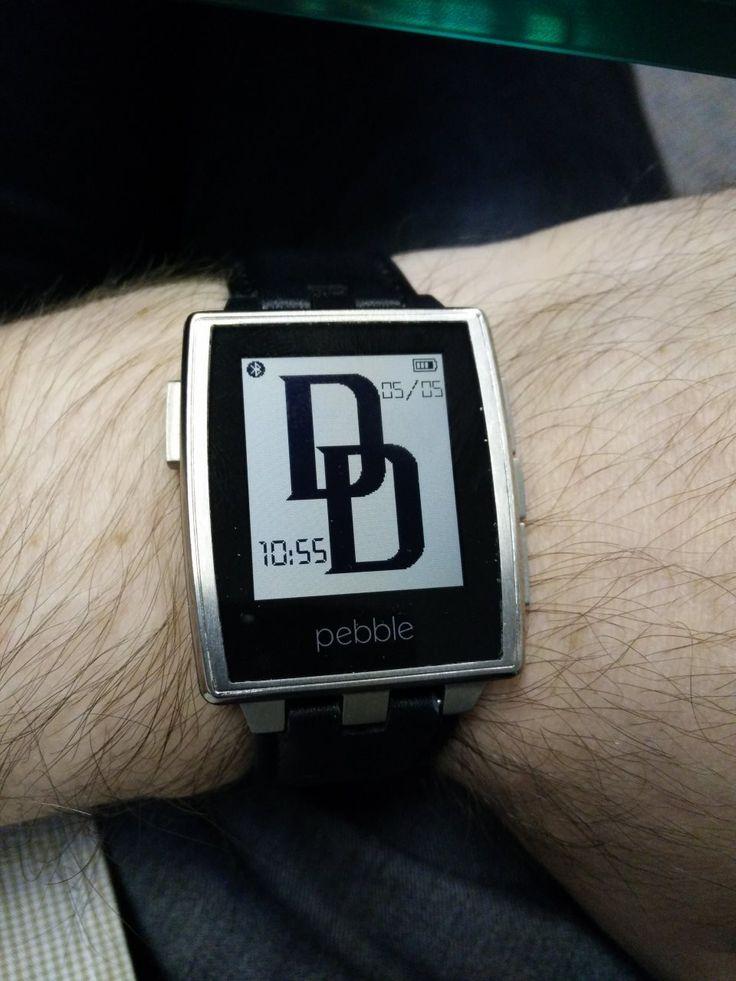 #pebblewatch #Daredevil