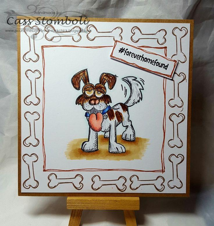 Pour Some Sugar On Me Blog - Tim Holtz Crazy Dogs #timholtz #crazydogs