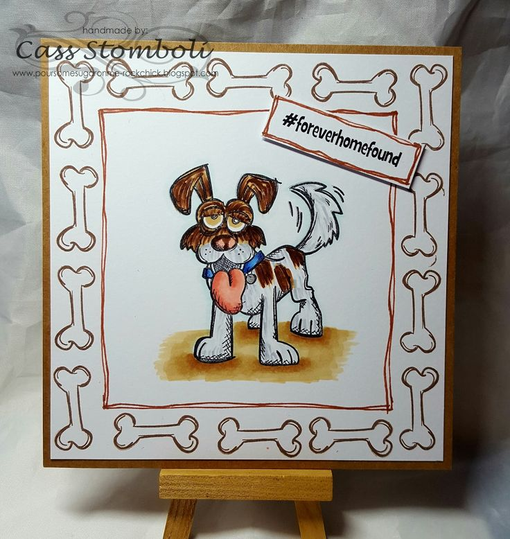 Pour Some Sugar On Me Blog - Tim Holtz Crazy Dogs #timholtz #crazydogs