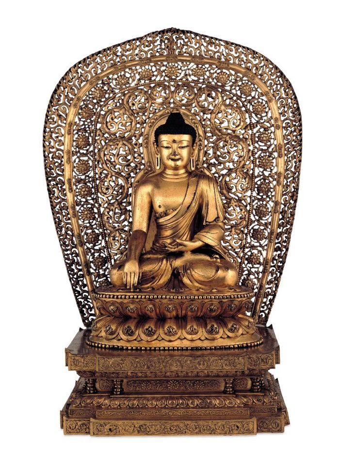 Σκαλιστός μπρούτζινος Βούδας, 1403–1424