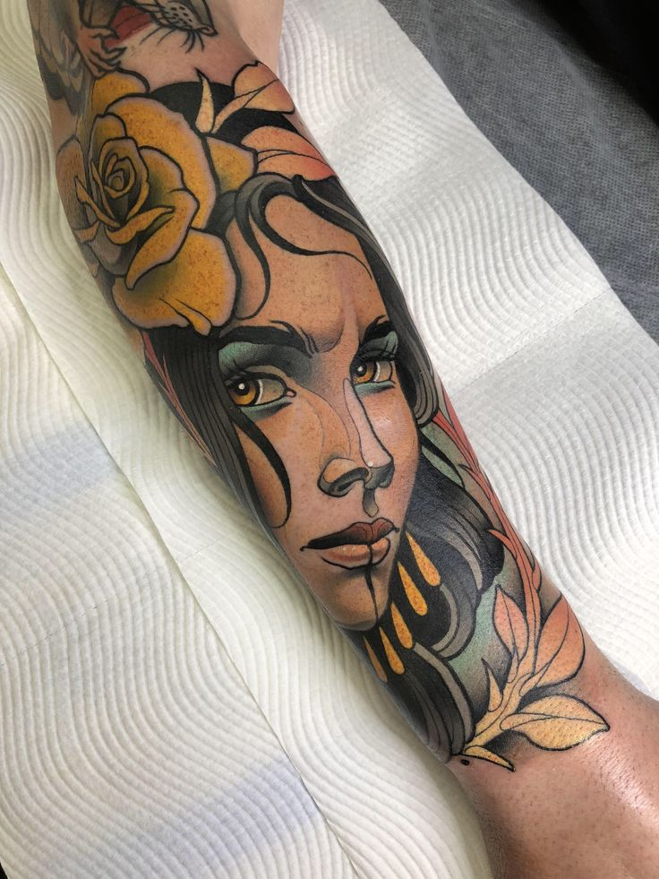 New ink by sam clark from sam clark tattoos in noosa