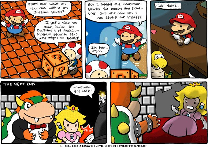 Funny Peach #Mario and #Pea...