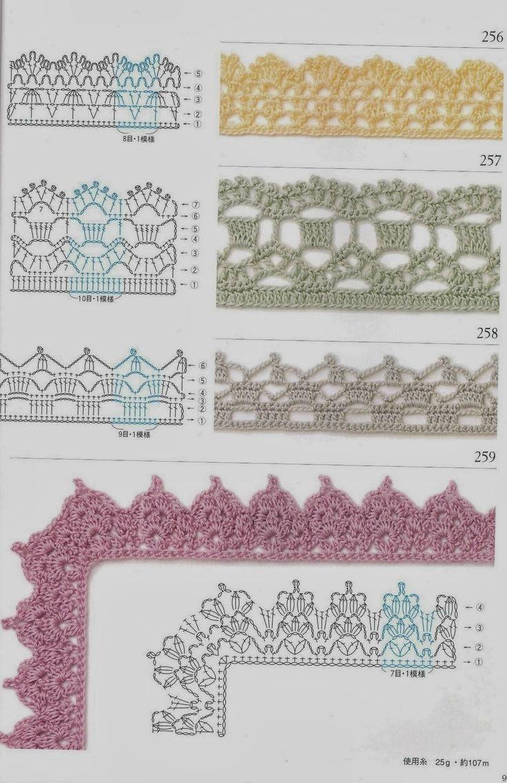 MES FAVORIS TRICOT-CROCHET: 75 bordures au crochet                                                                                                                                                                                 Plus