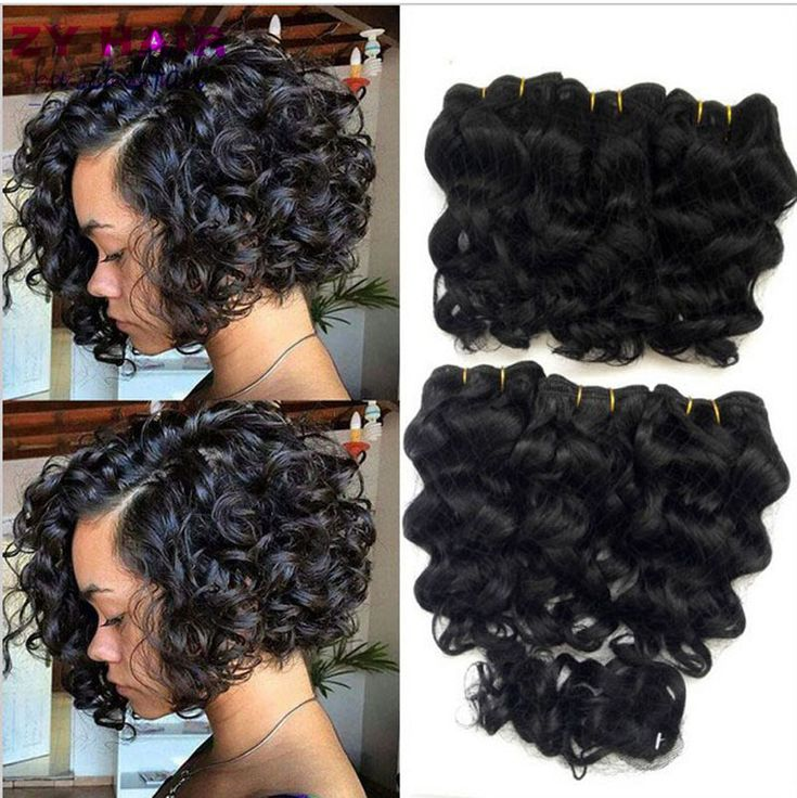 Summer New ® 8 inch Deep wave Tissage Bresilienne Queen 【 Weave Beauty Deep Curly Short Hair With Closure West Kiss Virginhair Deals(0_*)Summer New 8 inch Deep wave Tissage Bresilienne Queen Weave Beauty Deep Curly Short Hair With Closure West Kiss Virginhair Deals(0_^)