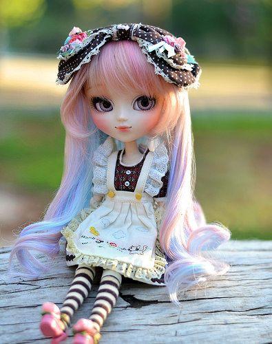 867 best dolls pullip friends images on pinterest for Blythe le jardin