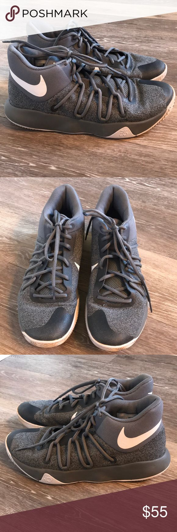 Nike Kd basketball shoes!  Size 9! Barely showing any wear.  See pictures!  Bottoms could use a wipe down.  Overall, EXCELLENT shoes!!!  Size 9 Nike Shoes Athletic Shoes
