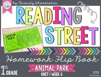 kindergarten homework reading street