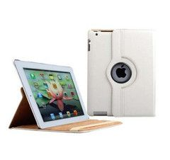 iPad Rotatable Case in White