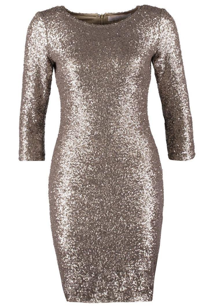 Vestito elegante gold  found on Styletorch