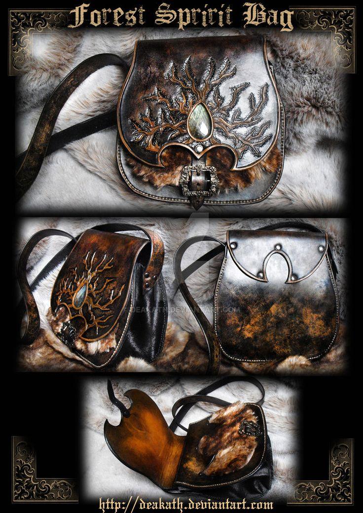 Forest spririt bag - FOR SALE by Deakath on DeviantArt