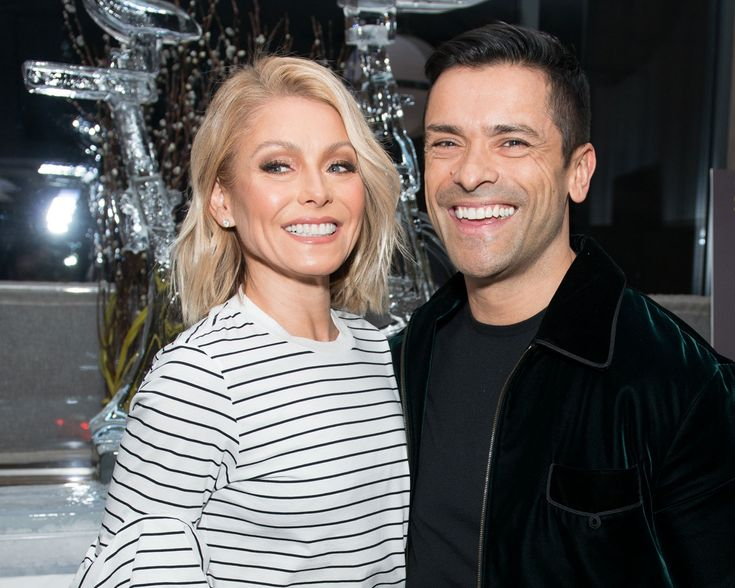 Kelly Ripa celebrated her husband Mark Consuelos' 46th birthday on Thursday, March 30 with a sweet compilation of throwback family photos on social media.
