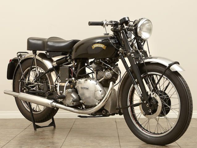 1954 Vincent Series C Touring Comet Frame no. F5AB/2A/10303