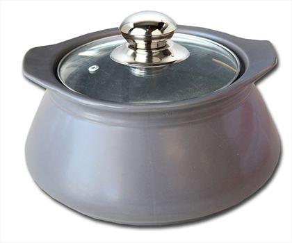 Pişirme Gereçleri   Gri Basık Tencere 1,50lt. #bonvagon 'da