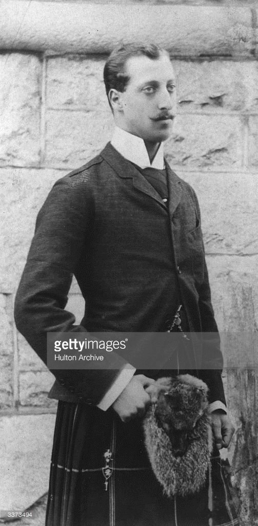 Prince Albert Victor (1864 - 1892), Duke of Clarence, son of King Edward VII.