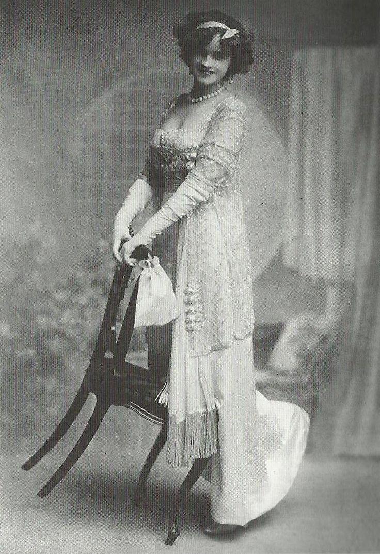Gertie Miller robe belle époque