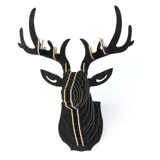M s de 25 ideas nicas sobre cabezas de ciervo de cart n en pinterest animales de cartulina - Cabeza ciervo carton ...
