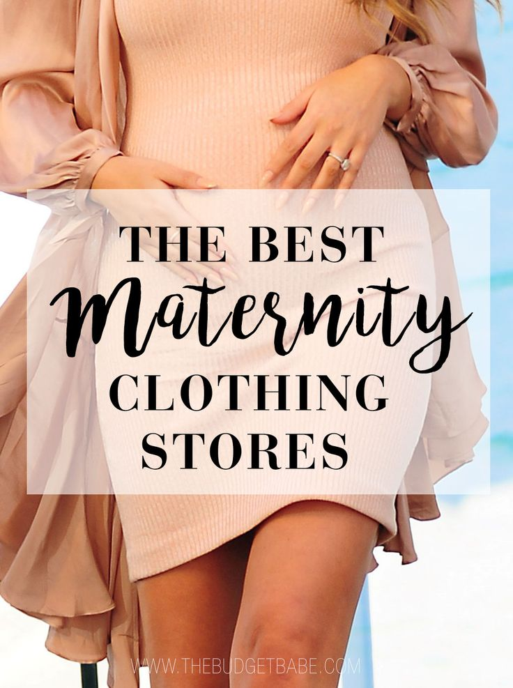 Looking for the best place to shop for maternity fashion? Check out this list of the best maternity stores that are all budget-friendly, too!