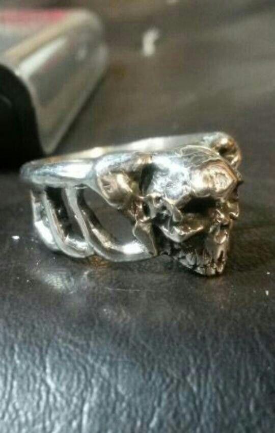 My skull ring